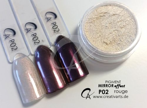 Pigment Mirror effect rouge ultrafine