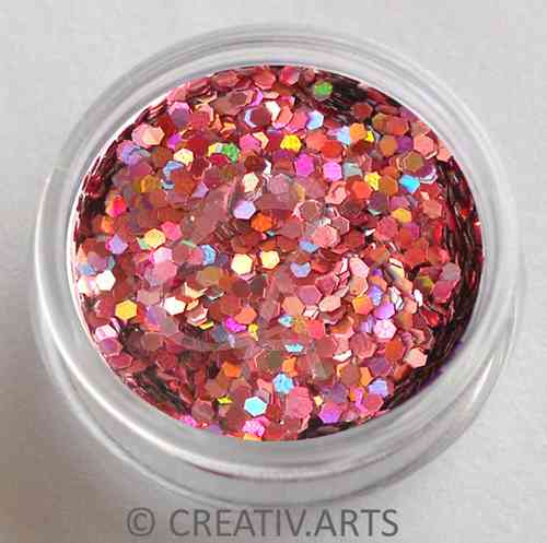 WILD ROSE - holo pailletten
