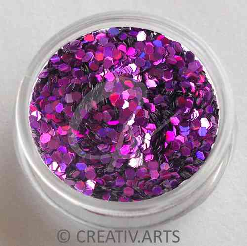 COSMIC PURPLE  - holo pailletten