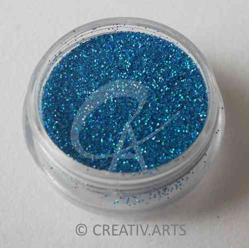 BLUE BIRD - holo glitter