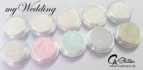 Glitter-Set MYWEDDING