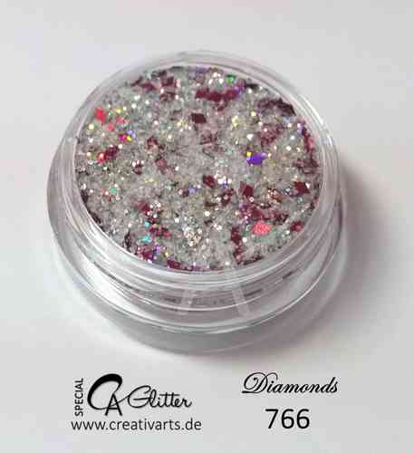 DiAMONDS SILVER pink