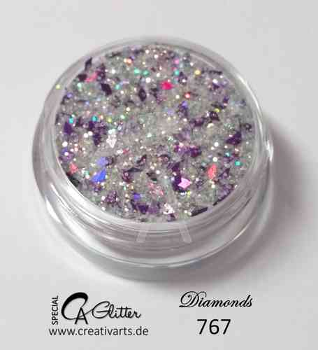 DiAMONDS SILVER purple