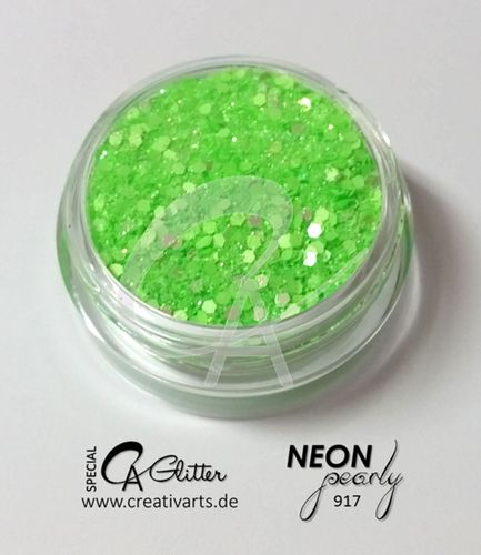 NEONpearly green