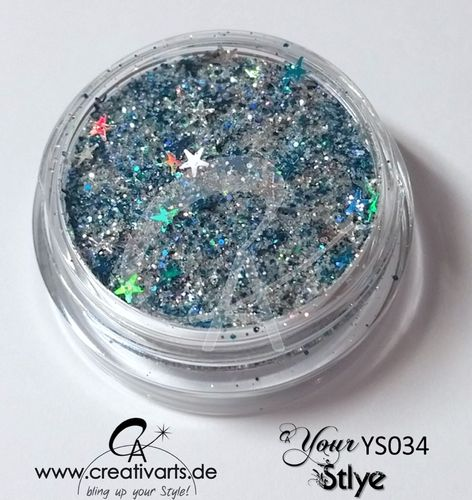 CA.yourSTYLE BLUE-SILVER STAR