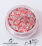 BE CRAZY silber-coral