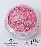 BE CRAZY silber-pink