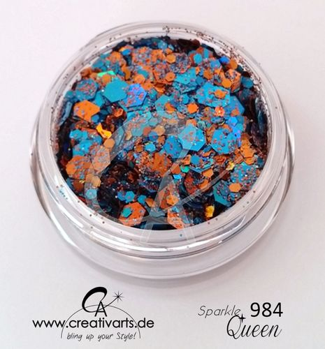 SPARKLEqueen orange -blue