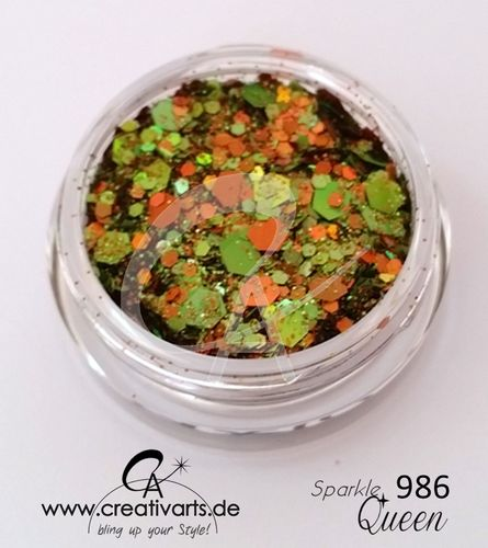 SPARKLEqueen orange-green
