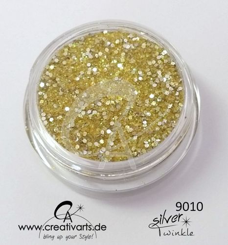 SILVERtwinkle gold-yellow