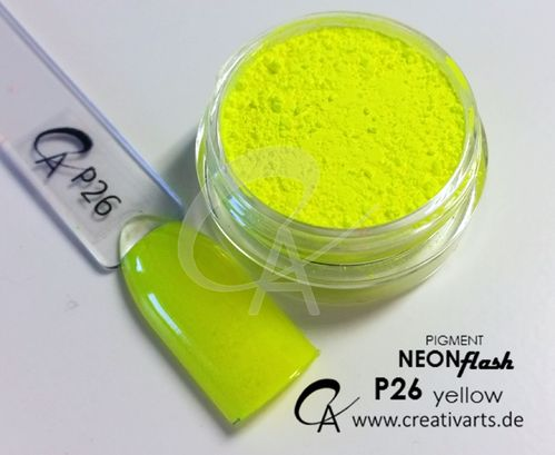 Pigment Neon Flash yellow