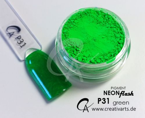 Pigment Neon Flash green