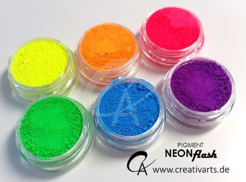 Pigment Set Neon Flash