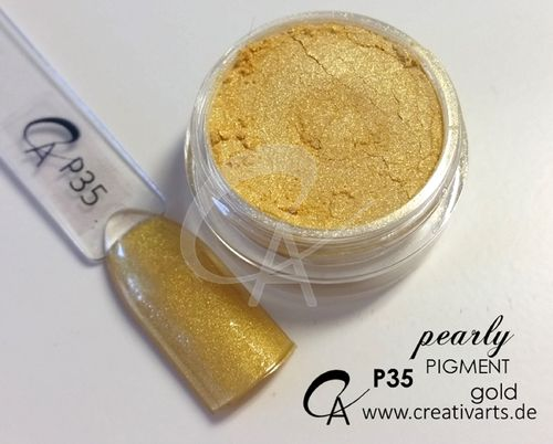 Pigment pearly  gold