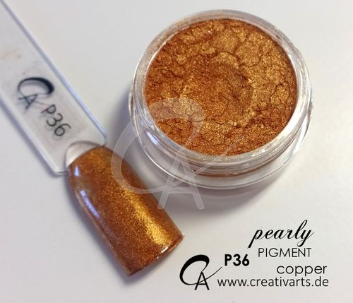 Pigment pearly copper
