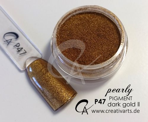 Pigment pearly dark gold ll