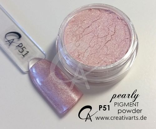 Pigment pearly powder