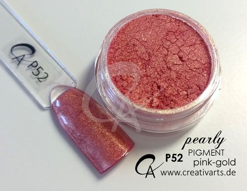 Pigment pearly pink-gold