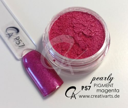 Pigment pearly magenta