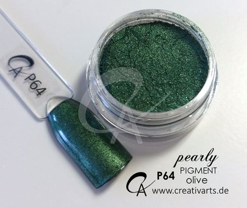 Pigment pearly olive