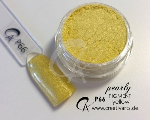 Pigment pearly yellow