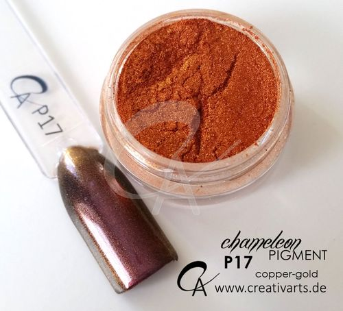 Pigment Chameleon copper-gold