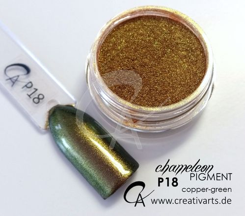 Pigment Chameleon copper-green