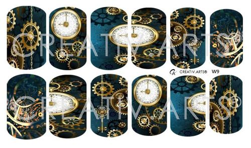 9 o´clock Steampunk Wraps