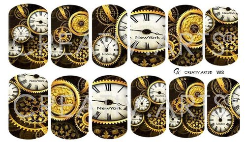 4 o´clock Steampunk Wraps