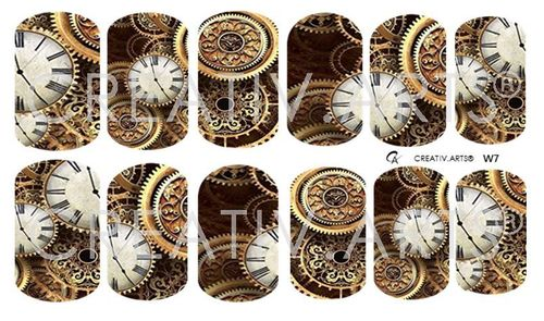 5 o´clock Steampunk Wraps